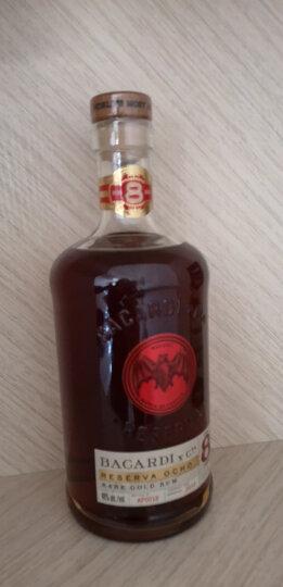 百加得(Bacardi) 进口 洋酒 黑朗姆酒 750毫升 晒单图