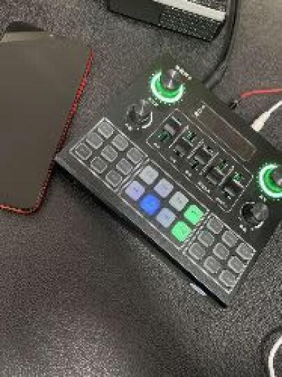 意创生活 手机声卡套装k歌唱歌电脑直播设备支架全套电容麦克风网红主播快手抖音变声器唱吧专业录音话筒 黄色 晒单图