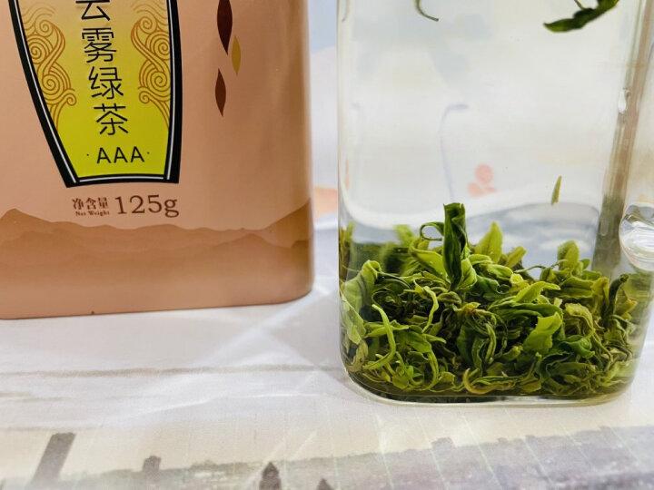 2021新茶上市一杯香茶叶明前云雾绿茶4盒共500克礼盒装日照充足高山毛尖浓香型  晒单图