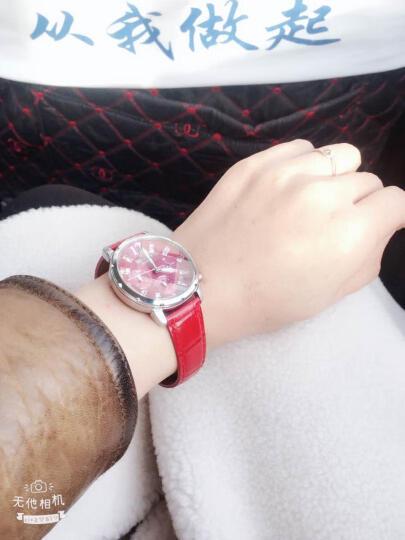 卡西欧(CASIO)手表 女士石英腕表 防水时尚百搭款 白盘白色皮带SHE-5020L-7A 晒单图