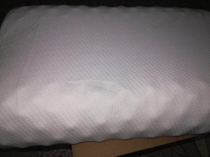 PARATEX天然乳胶枕泰国原装进口TH9护颈椎枕按摩枕乳胶枕头枕芯 平板波浪枕 晒单图