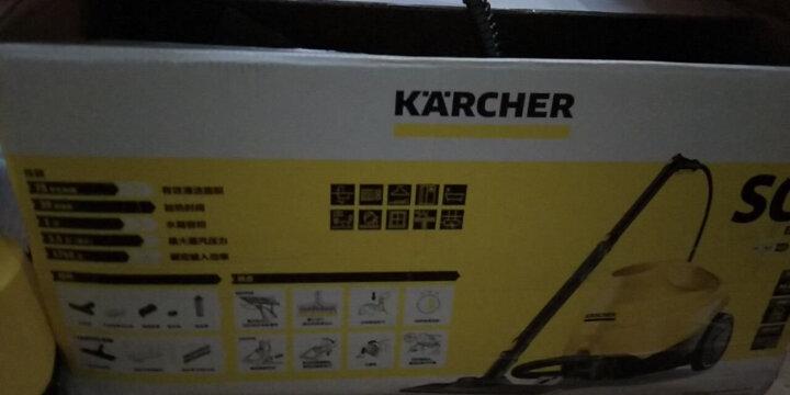 KARCHER卡赫蒸汽拖把 家用多功能高压高温蒸汽清洁机 吸尘器伴侣 蒸汽拖地机 德国凯驰集团SC3 晒单图