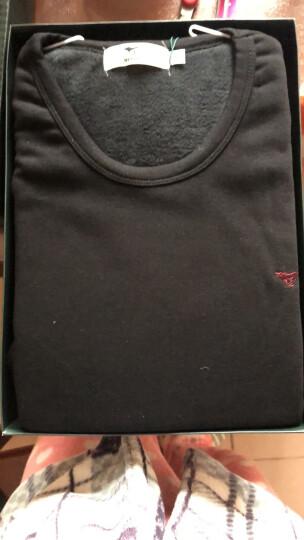 七匹狼保暖内衣男厚款加绒加厚套装秋衣秋裤棉质男士内衣保暖衣裤 牛仔蓝(上衣+裤子) XL(175/100) 晒单图