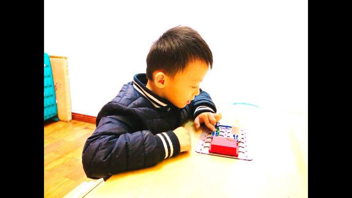 电学小子 儿童积木拼装玩具电子电路男孩物理启蒙益智玩具 五号电池一节(赠品单拍不发货) 晒单图