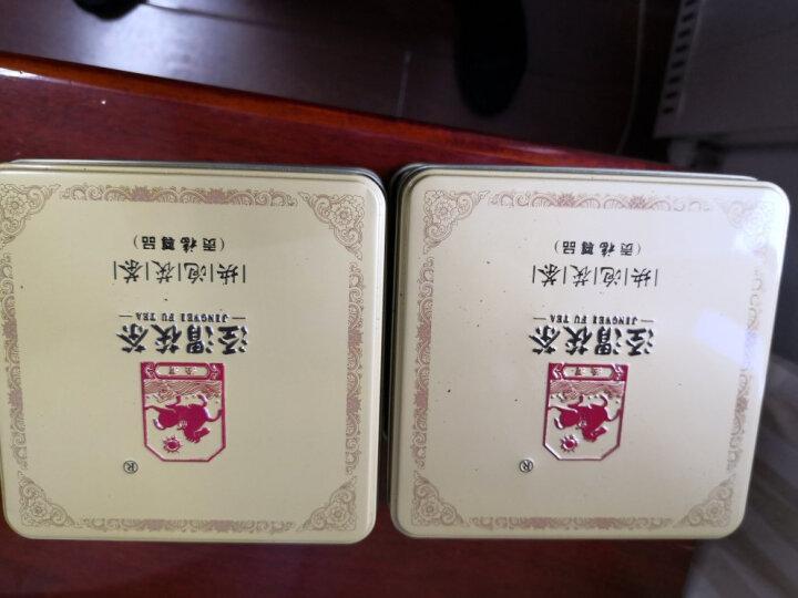 泾渭茯茶 块泡茯砖茶280g 泾阳茯茶 金花茯砖茶 贡福尊品 易泡茯茶 陕西特产黑茶 贡福尚品(无手提袋) 晒单图