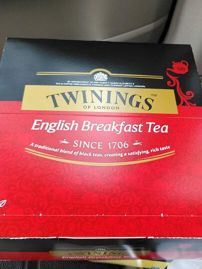 英国川宁(TWININGS) 红茶 金毫英式早餐红茶 进口茶叶 袋泡茶包 3g*15包 下午茶 可搭配牛奶 蜂蜜 晒单图