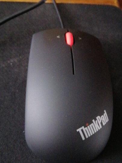 联想(lenovo) Think笔记本台式机通用游戏办公鼠标(可选款式:有线、无线、蓝牙、双模)—— 0B47083大黑USB有线鼠标 晒单图