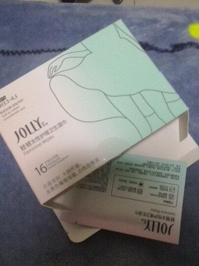 娇妍 jolly女性卫生巾湿巾16片  5盒优惠装 晒单图