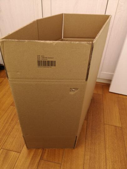 QDZX纸箱53*29*37cm搬家纸箱子加硬打包箱收纳箱储物整理箱快递箱纸盒收纳箱包装盒 五层加强1个装 53*29*37 晒单图