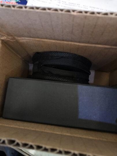 依魅 G55 无线运动蓝牙耳机4.1防水防汗耳挂式音乐耳麦车载通用苹果小米华为三星手机 银黑 晒单图
