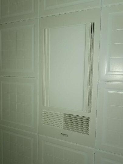 奥普(AUPU)浴霸 风暖卫生间浴室灯具集成吊顶灯换气LED照明超薄五合一多功能一体暖风机凉霸 E161(2100W大功率+LED照明) 晒单图