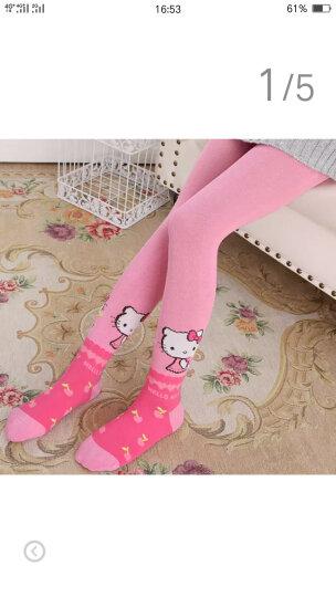 凯蒂猫HelloKitty儿童连裤袜女童打底裤袜秋冬保暖针织非纯棉连裤袜 KT8023-2粉色 100cm/适合身高95-105cm 晒单图