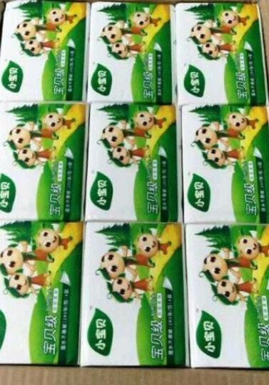 【工厂直供】小宝贝抽纸餐巾纸婴儿纸巾4层27包可湿水面巾纸卫生纸擦手纸 晒单图