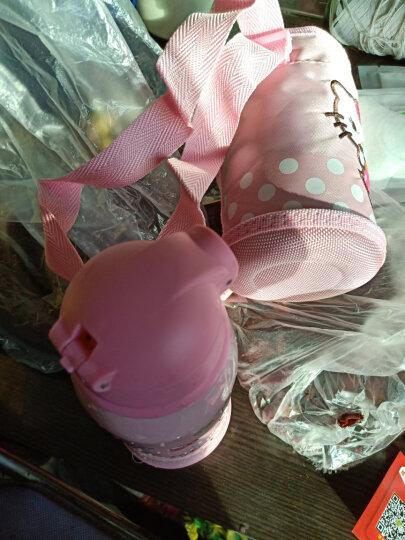 爱宝熊(IBOOLBEAR) 儿童保温杯宝宝保温杯  带吸管三用316不锈钢幼儿园小学生便携水壶 Hello Kitty猫304不锈钢 晒单图