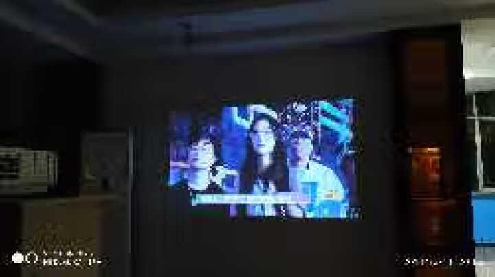 Rigal 瑞格尔led投影仪家用办公全高清1080p无线wifi投影机4K激光电视3d迷你便携影院 升级版+蓝牙+WIFI 晒单图