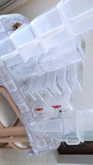 百露冰箱保鲜盒收纳盒 食品储物盒杂粮收纳箱厨房收纳筐 收纳用品 超值2个装 晒单图