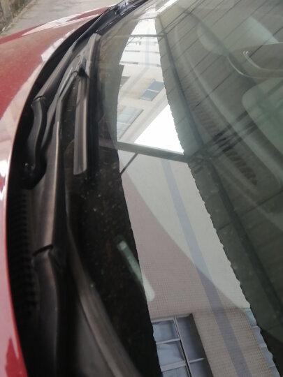 卡卡买铂晶无骨雨刮器/雨刷器/雨刮片(可更换胶条)大众新速腾12后/奥迪Q2L(18-/众泰SR9/z700/大通G20 24/19 晒单图