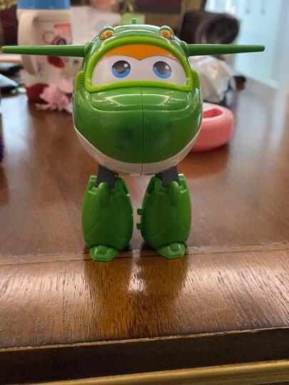奥迪双钻(AULDEY)超级飞侠玩具大变形机器人-小青 儿童玩具男女孩生日礼物 710280 晒单图
