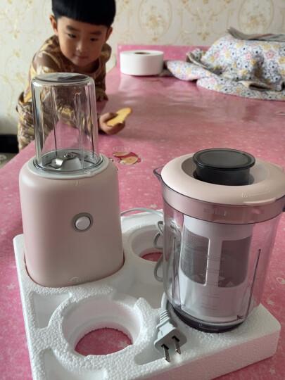 美的(Midea)磨粉机研磨机家用智能料理机易清洗双杯榨汁机搅拌机豆浆机粉碎机打粉机婴儿辅食机WBL25B26 晒单图