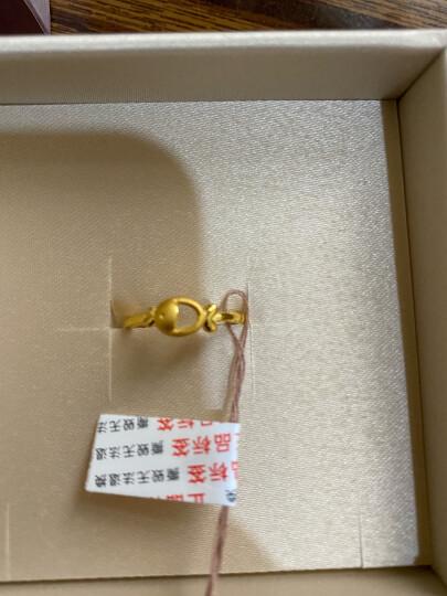 六福珠宝 网络专款足金欢乐鱼黄金戒指女戒活口戒 计价 GMGTBR0001 2.51克(含工费80元) 晒单图