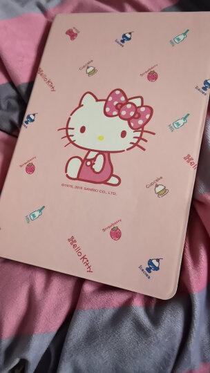 Hello Kitty ipad mini4保护套 mini4卡通保护壳智能休眠皮套 甜品凯蒂 晒单图