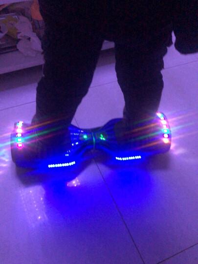 森林狼 儿童成人平衡车双轮电动扭扭车代步7寸两轮思维漂移智能体感车 电镀蓝-发光轮(蓝牙音乐+自平衡+三档调节) 晒单图