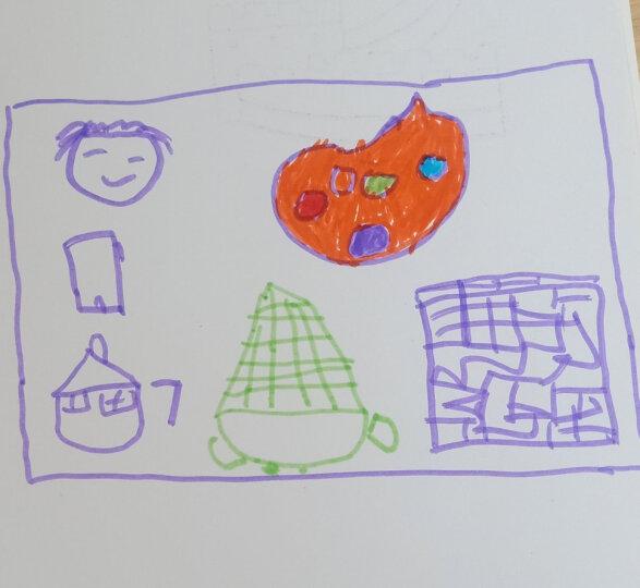 得力(deli)24色可洗水彩笔 彩色绘画涂色颜色玩具 儿童画画 文具美术画材学习用品 24色收纳筒7067 晒单图