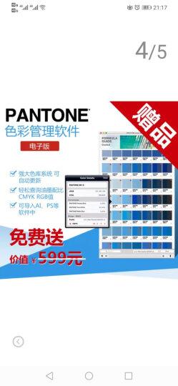 PANTONE彩通色彩桥梁 GG6103N 国际标准C卡专色四色RGB/CMYK色卡 晒单图
