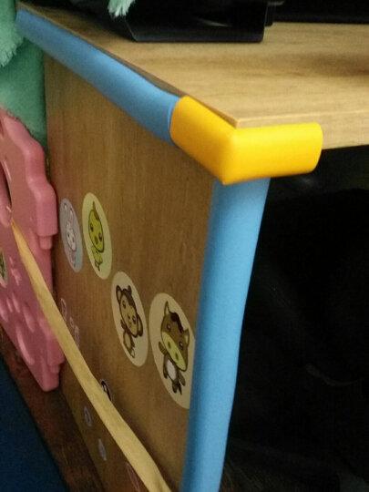 Babyprints防撞角宝宝桌角护角儿童婴儿防碰撞磕碰茶几保护套12个装 送3M双面胶 黄色 晒单图