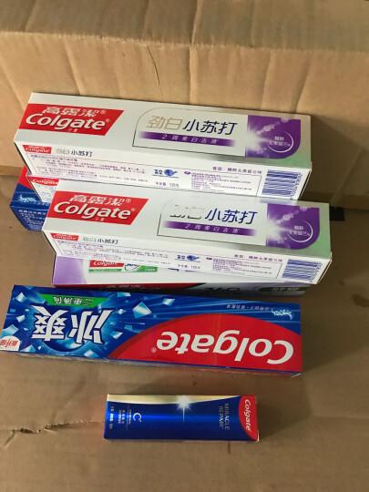 高露洁(Colgate)便携式旅行牙膏牙刷套装 (备长炭深洁牙膏40g+护龈牙刷) (产品升级颜色包装随机发放) 晒单图