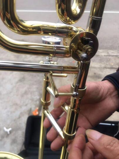 永恒YONGHENG次中音变调长号降B/F调长号乐器铜管乐器拉管初学考级专业演奏 晒单图