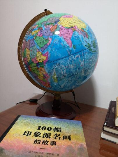 北斗地球仪 32cm学生地理学习LED灯光地球仪 高清中英文政区 办公用品 教学研究摆件 教学用品(赠世界地图、中国地图、放大镜) 晒单图