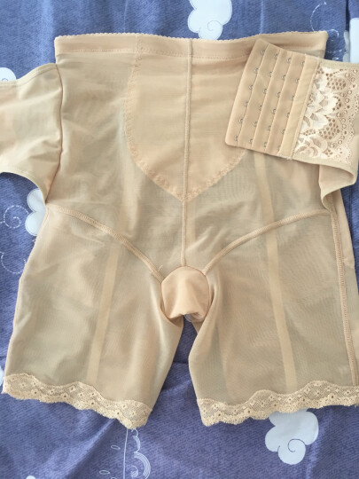 婷美塑身裤 收腹产后双重加压塑身衣LC3772 肤色 70 晒单图