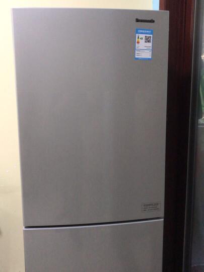 松下(Panasonic)307升风冷无霜家用 双门冰箱二门 玻璃面板 急速冷冻BCD-301WGBA(NR-B290JD) 晒单图