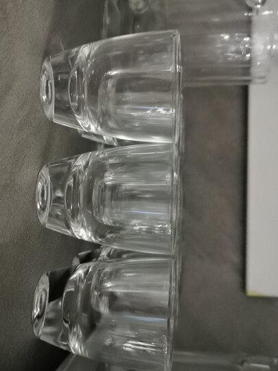 乐美雅(Luminarc)16166烈酒金杯50ml(12只装)韩国吞杯家用白酒杯无铅玻璃杯小酒杯烧酒杯套装 晒单图
