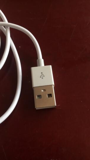 【2件装】蜂翼 苹果XSMax/XRX/8/7/6s数据线 1.2米白色 快充手机充电器线电源线 iPhone7Plus/ipad air mini 晒单图