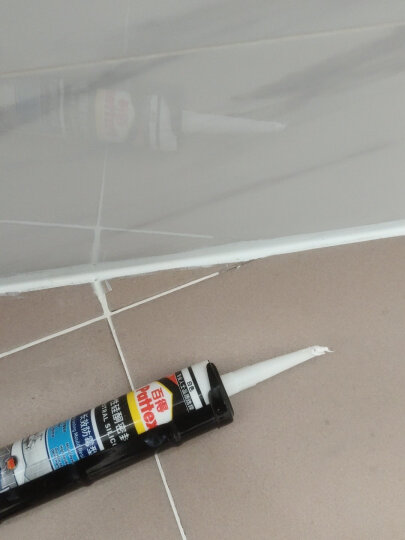 百得(Pattex) 汉高百得玻璃胶 密封胶防水胶防霉玻璃胶厨卫中性硅胶抗污易清洁 SBS Plus-W白色 晒单图