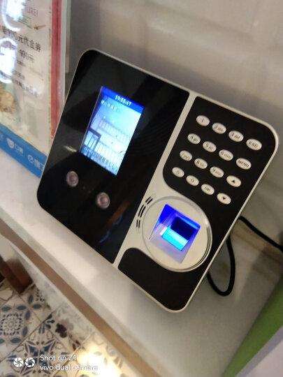 真地(Realand)人脸考勤机指纹打卡机签到机面部识别上班打卡器F490F 晒单图