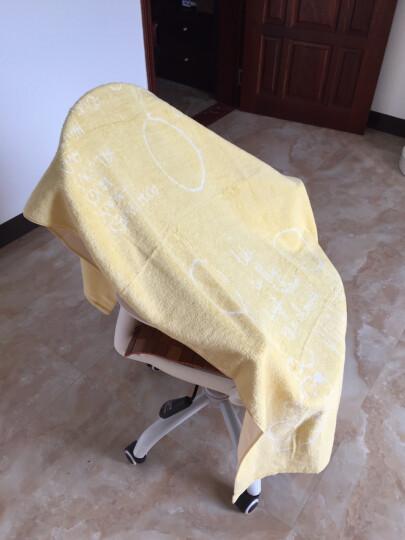 迪士尼(Disney) 维尼熊气球无捻纱浴巾 纯棉儿童大浴巾 毛巾被 儿童礼物 幼儿园 P粉色1条 80*150cm 晒单图