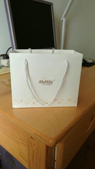 MyMiss 十二生肖戒指 女食指开口 925银镀铂金指环 情人节礼物 情侣送礼 银饰品 兔 晒单图