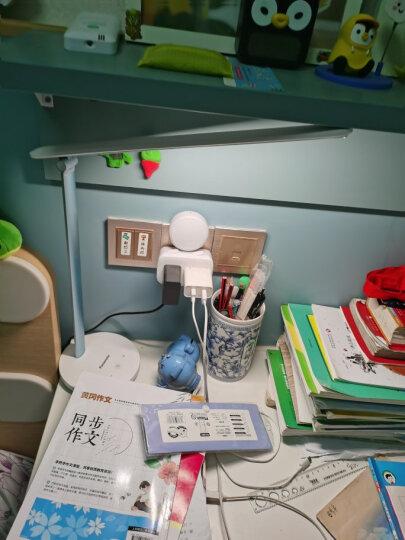 松下(Panasonic)台灯学习减蓝光学生儿童阅读床头灯国A级护眼台灯宿舍护眼灯读写台灯致翼升级蓝 晒单图