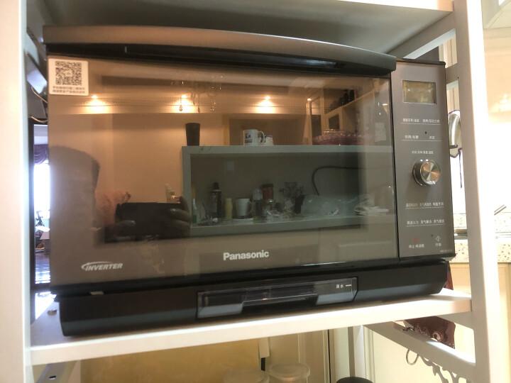 松下(Panasonic)蒸汽微波炉家用全自动变频微蒸烤烘焙发酵解冻一体机蜂巢聚热NN-DS2500 彩屏触控操作/智能APP互联 晒单图