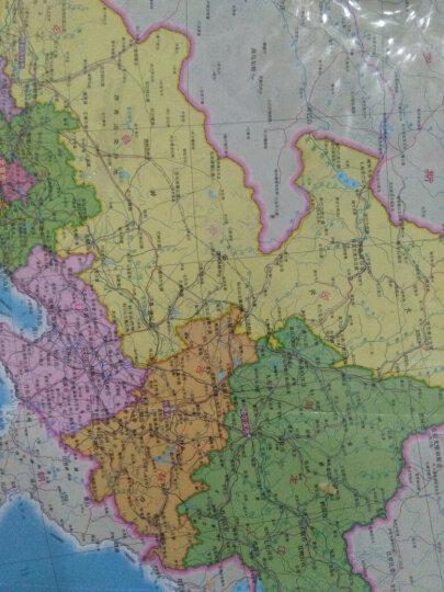 中国地图(防水 耐折 撕不烂地图 折叠图 1000mm*700mm) 晒单图