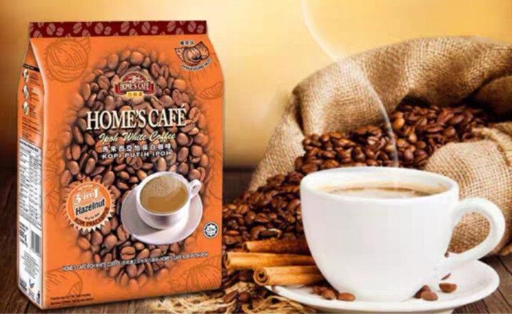 故乡浓(HomesCafe) 马来西亚进口怡保 白咖啡 3包 三合一原味速溶白咖啡 600g/包 榴莲525g*3包 晒单图