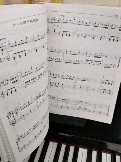 新编中央音乐学院校外音乐水平考级教程丛书:钢琴(业余)考级教程(1级-6级)(附CD光盘1张) 晒单图