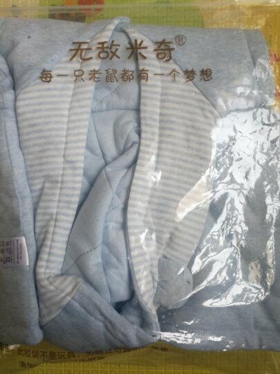 无敌米奇(WUDIMIQI) 婴儿连帽马甲秋冬上衣男女宝宝背心坎肩儿童带帽马甲 麻棕-口袋小熊 110cm(30-36e月龄) 晒单图