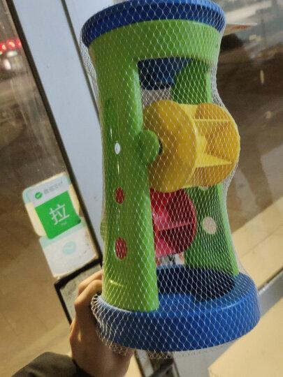 德国(Hape)沙滩玩具大号加厚转轮沙漏套装益智玩具1-3-6岁游乐场挖沙玩具男孩女孩节日生日礼物 1岁+ E4046 晒单图
