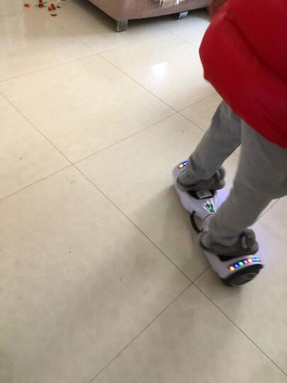 森林狼 成人儿童智能平衡车两轮双轮7寸体感车玩具车电动迷你思维平衡车儿童扭扭车 发光轮高配版-三色星空(蓝牙+自平衡+三档可调) 晒单图