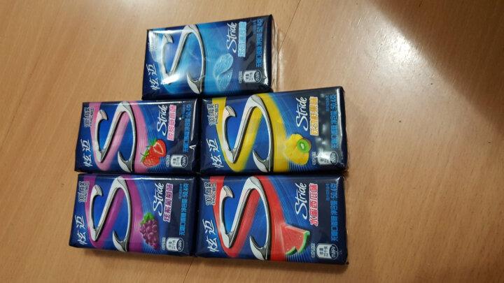 炫迈(Stride)无糖口香糖 跃动鲜果味28片50.4g 新老包装随机发货 晒单图