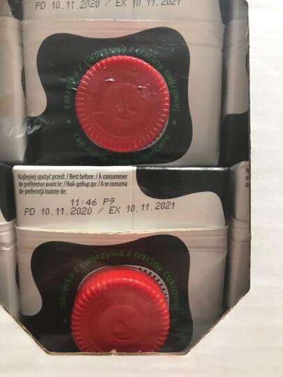 波兰进口 Laciate 高温灭菌全脂牛奶 0.5L*8盒 晒单图